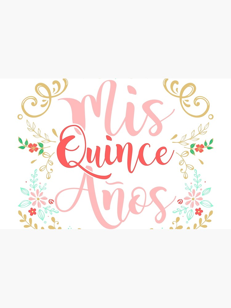 Mis quince anos clipart vector freeuse Quinceanera Mis Quince Anos 15th Birthday Girl | Laptop Skin vector freeuse
