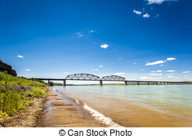 Misouri river water clipart graphic free library Stock Photography of Turbid waters of Missouri river in South ... graphic free library