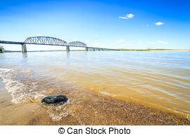 Misouri river water clipart clip transparent library Stock Photography of Turbid waters of Missouri river in South ... clip transparent library