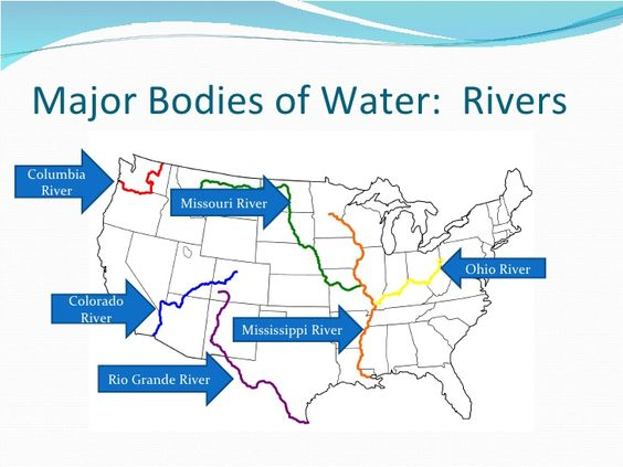 Misouri river water clipart clip download bodies of water mississippi river, ohio river missouri river ... clip download