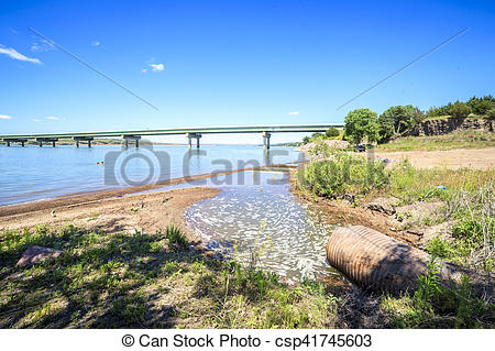 Misouri river water clipart clipart free Stock Photography of Turbid waters of Missouri river in South ... clipart free