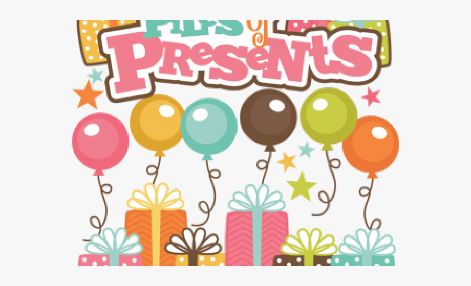 Miss kate cuttables happy birthday clipart png graphic free library Birthday Present Clipart Miss Kate Cuttables - Mensagem De Feliz ... graphic free library