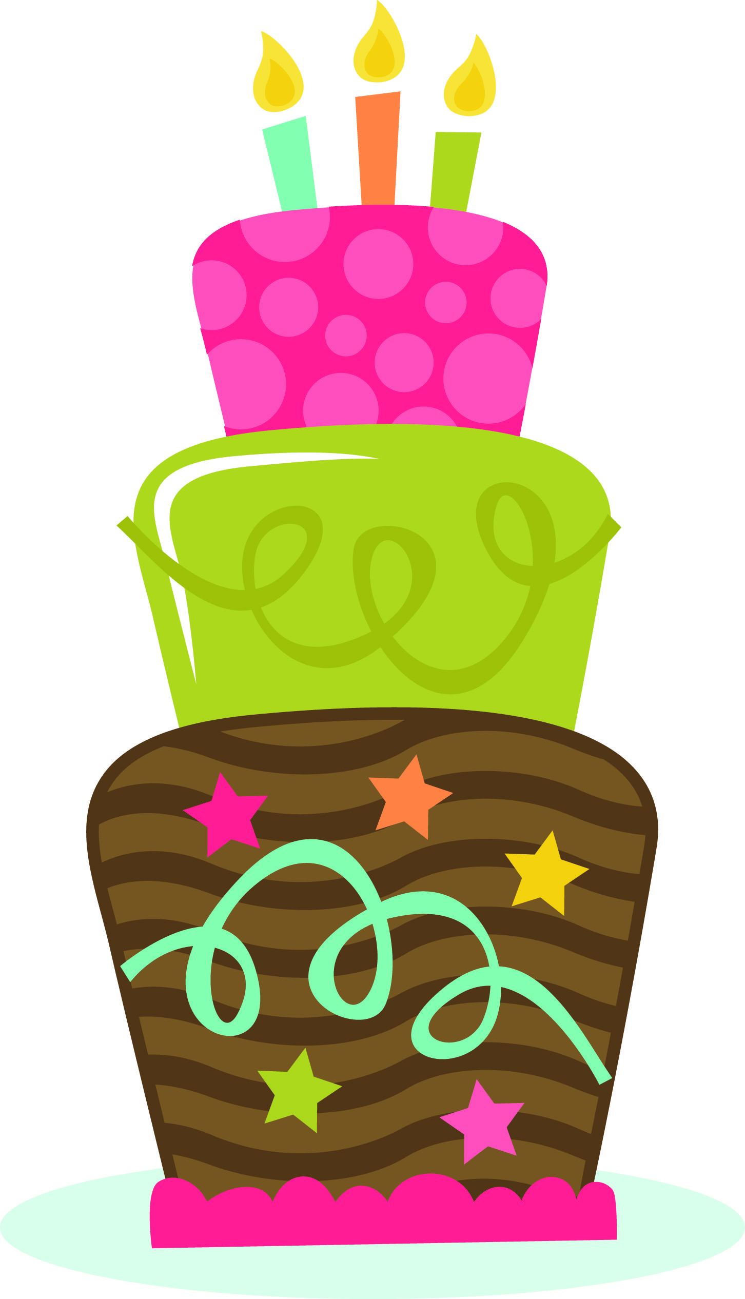 Miss kate cuttables happy birthday clipart png vector transparent Birthday Cake 02-04-13 (MISS KATE CUTTABLES) | Clip Art-Food ... vector transparent