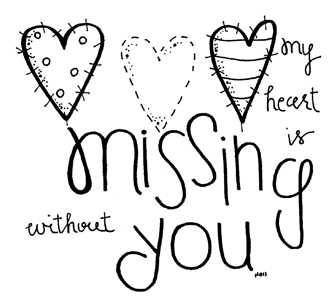 Missing you clipart svg black and white stock 15+ Missing You Clipart | ClipartLook svg black and white stock