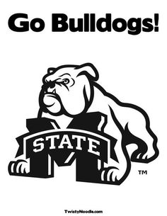 Mississippi state university logo clipart image black and white library Mississippi state university bulldog clipart - ClipartFest image black and white library