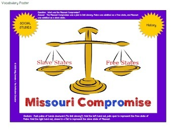 Missouri compromise clipart png download Statehood: The Missouri Compromise of 1820 png download