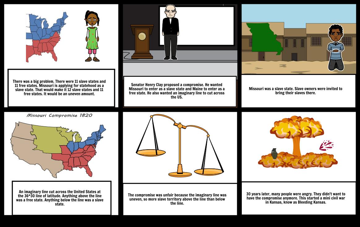 Missouri compromise clipart transparent library Missouri Compromise Storyboard by angeliki transparent library