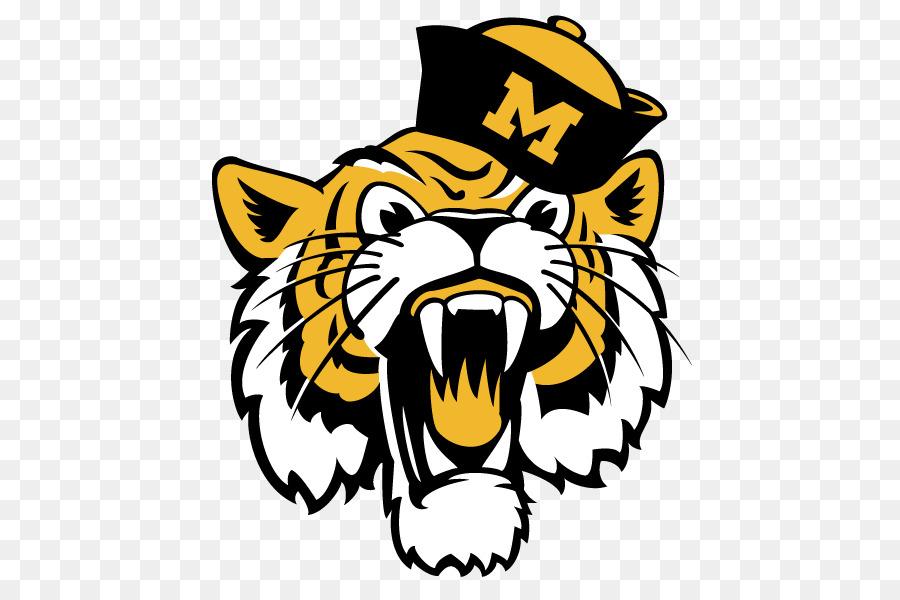 Missouri tigers football clipart svg royalty free library Mascot Logo png download - 500*589 - Free Transparent ... svg royalty free library