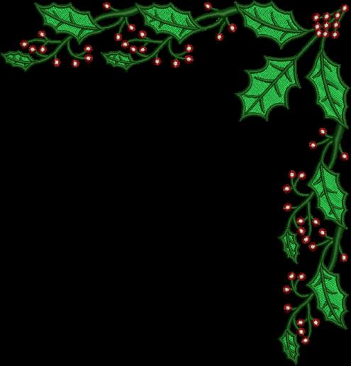 Mistletoe border clipart vector free stock HD Christmas Mistletoe Border - Clip Art Christmas Borders ... vector free stock