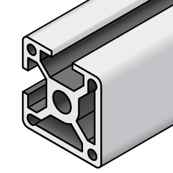 Misumi usa clipart clipart download Aluminum Extrusions - 8 Series, Base 50, Two-Side Slots | MISUMI ... clipart download