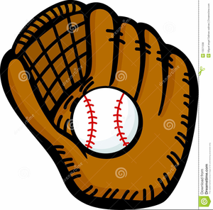 Mit clipart banner black and white Baseball Mit Clipart | Free Images at Clker.com - vector clip art ... banner black and white