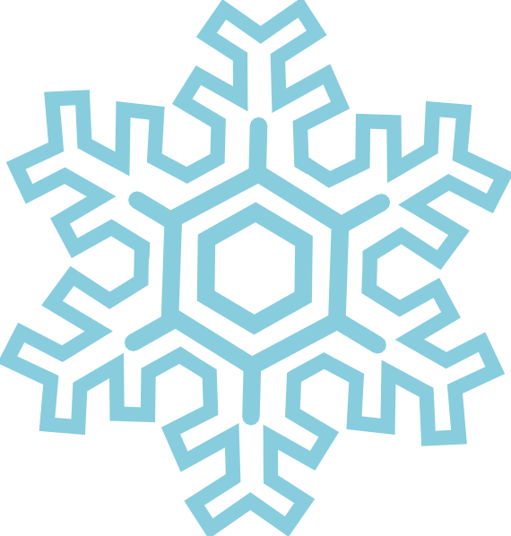 Winter clipart black and white snowflake banner royalty free download Stylized Snowflake Clip Art at Clker.com - vector clip art online ... banner royalty free download