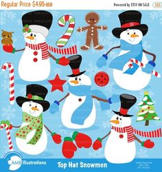 Mittens and snowman hat clipart whimsical clip royalty free stock 21 Best Snowman images in 2015 | Christmas clipart ... clip royalty free stock