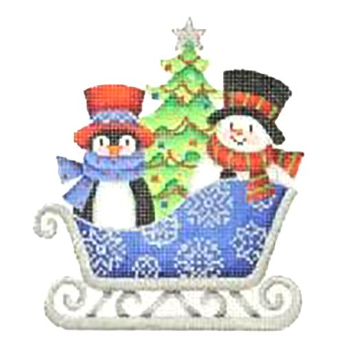 Mittens and snowman hat clipart whimsical vector free Snowman Needlepoint Canvases | Burnett & Bradley vector free