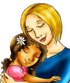 Mixed race mothers and their children clipart svg freeuse 9 Best Multiracial family images in 2014   Mixed race ... svg freeuse