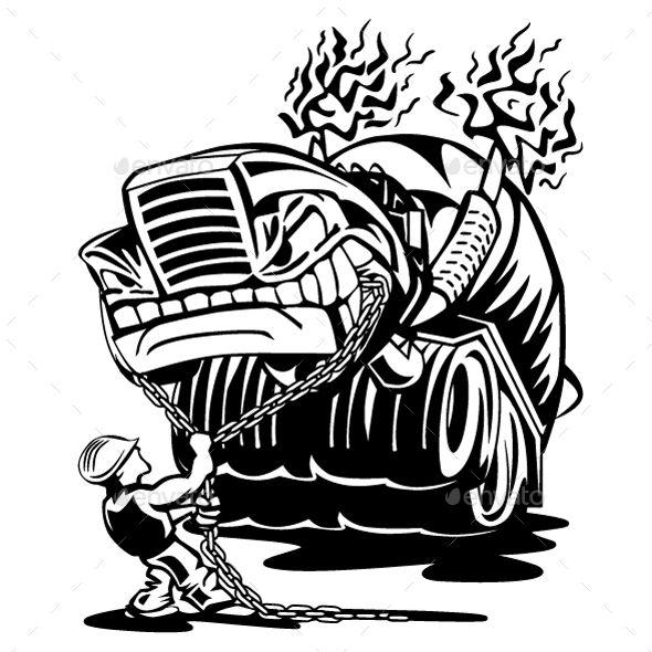 Mixer driver clipart clip art transparent stock Cement Mixer Truck with Driver Cartoon | Design Ideas ... clip art transparent stock