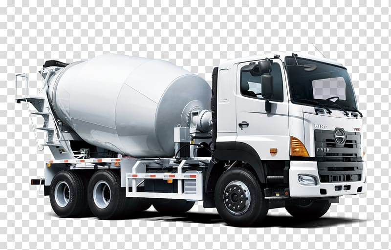 Mixer driver clipart svg royalty free library White Hino mixer truck, Hino Motors Hino Profia Car Isuzu ... svg royalty free library