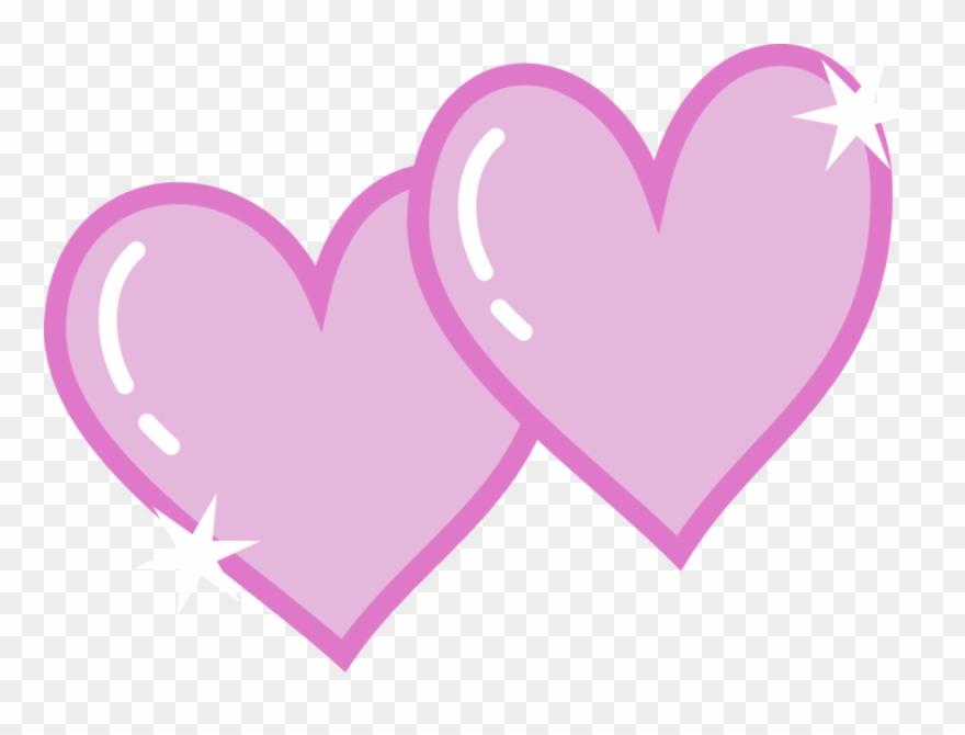 Mlp cutie mark clipart jpg stock Double Heart Cutie Mark - Mlp Cutie Mark Love Clipart ... jpg stock