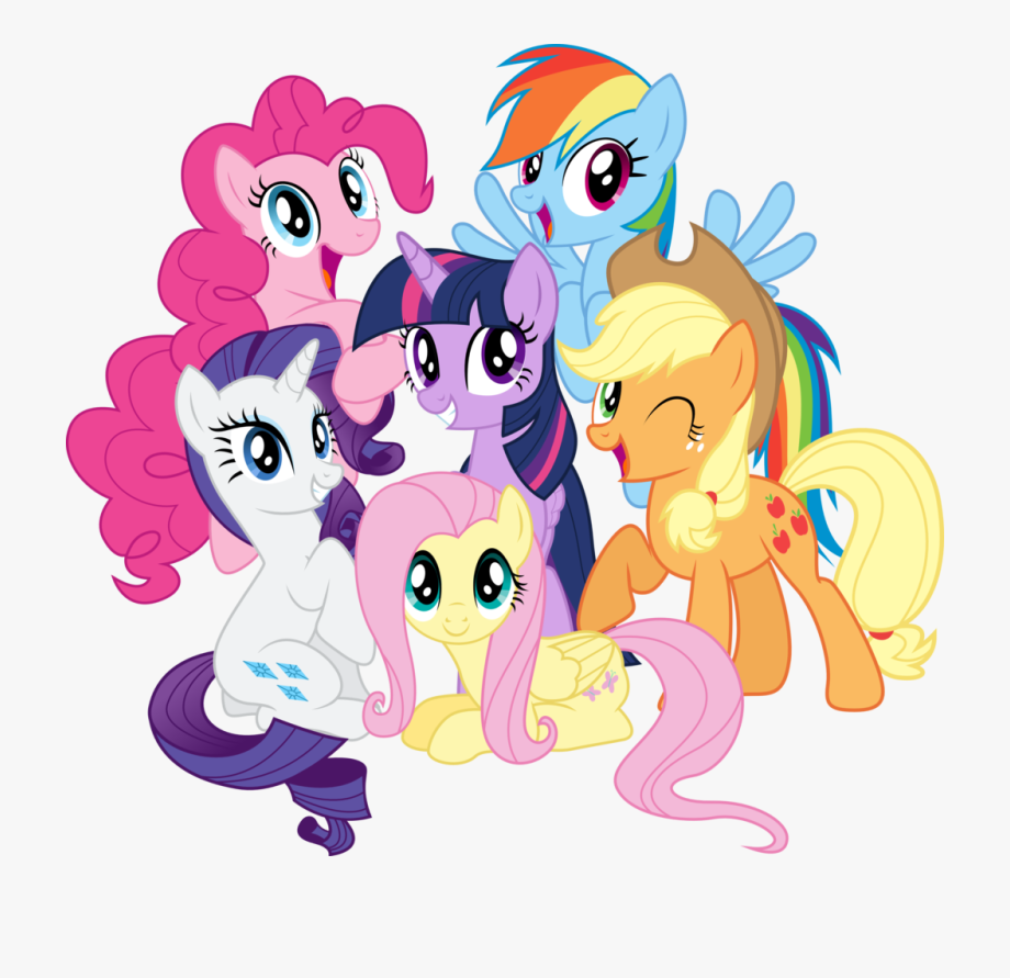Mlp mane 6 clipart banner free library You Are The Best My Little Pony Clipart Friend Pencil - My ... banner free library