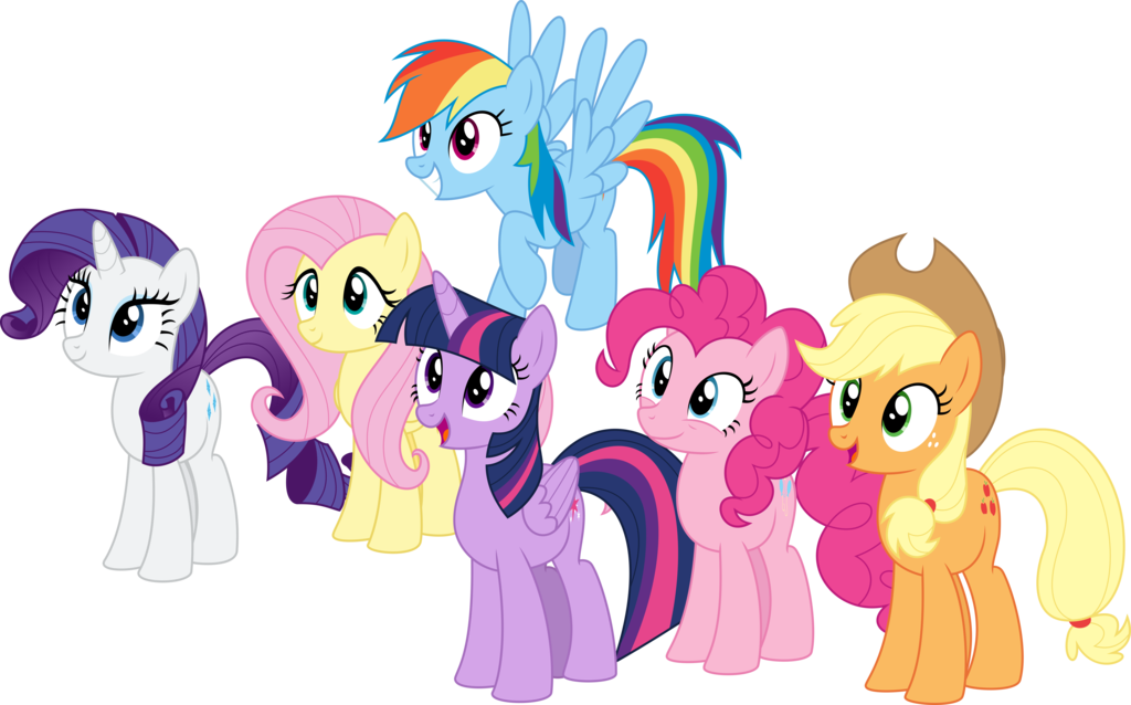 Mlp mane 6 clipart clip library stock Mane Six/Gallery | Heroes Wiki | FANDOM powered by Wikia clip library stock
