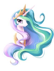 Mlp princess celestia clipart clip art black and white stock My Little Pony Princess Celestia Clipart | Free Images at ... clip art black and white stock