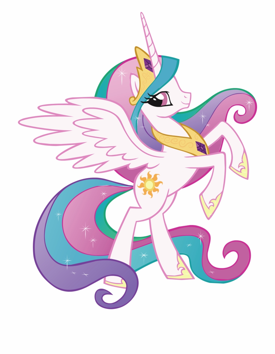 Mlp princess luna clipart picture Princess Celestia My Little Pony Decal Removable Wall ... picture
