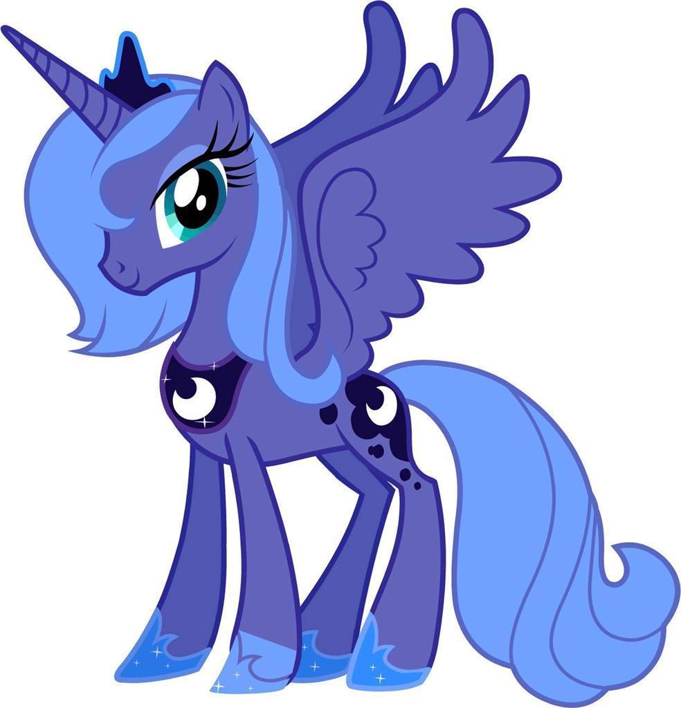 Mlp princess luna clipart clip freeuse $13.49 - Princess Luna My Little Pony Decal Removable Wall ... clip freeuse