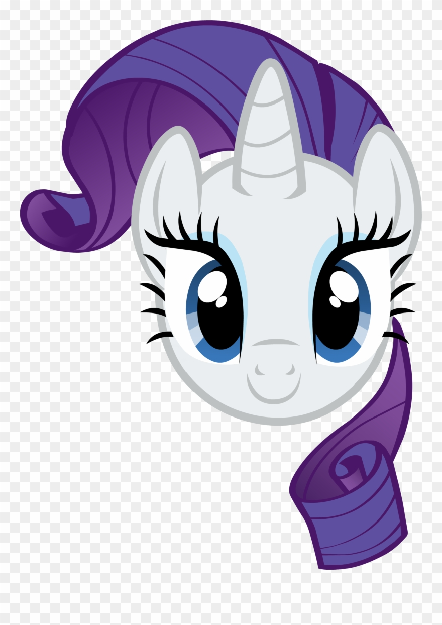 Mlp rarity clipart image freeuse library Pony Clipart Mlp Rarity - My Little Pony Rarity Head - Png ... image freeuse library
