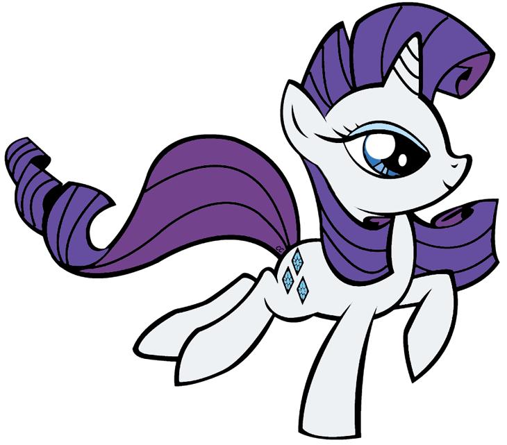 Mlp rarity clipart svg library stock My Little Pony Friendship is Magic Clip Art   Cartoon Clip Art svg library stock