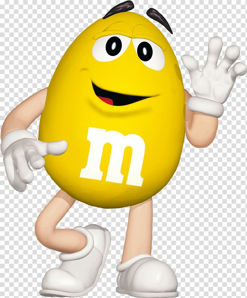 Mars incorporated clipart vector black and white stock Yellow M&M character waving hand, M&M\\\'s World Hackettstown Mars ... vector black and white stock