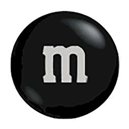 M&m candy clipart clip freeuse stock Black M&M\'s | CandyWarehouse.com clip freeuse stock