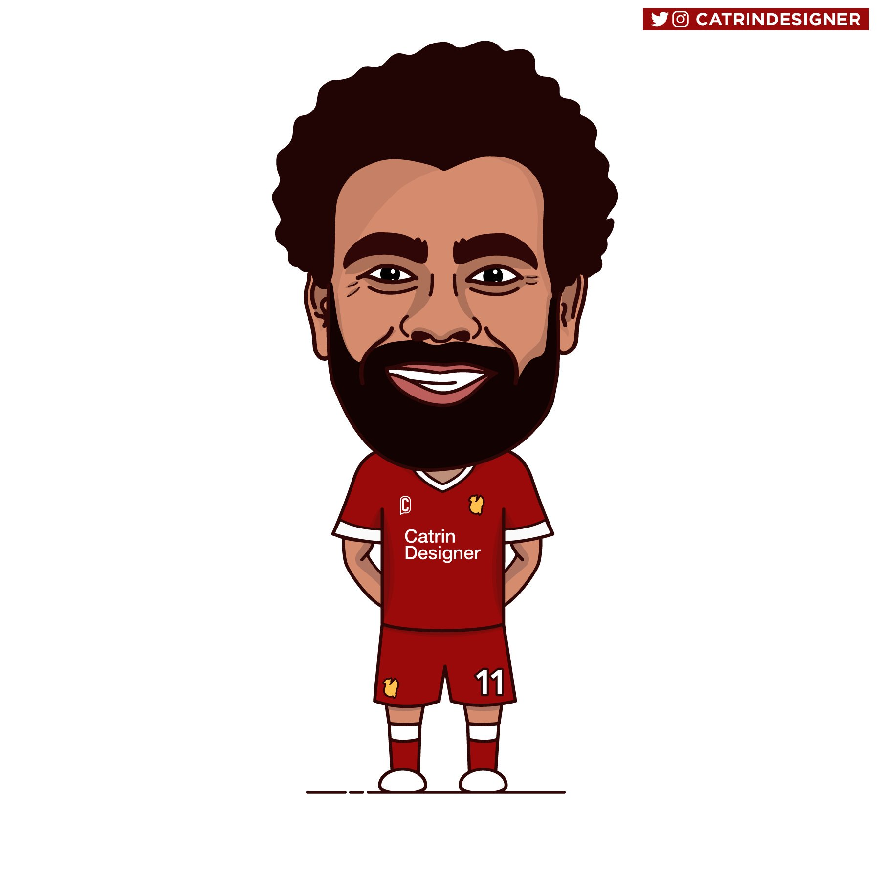 Mo salah clipart image black and white Mo Salah, Roberto Firmino, Liverpool | Baaz image black and white