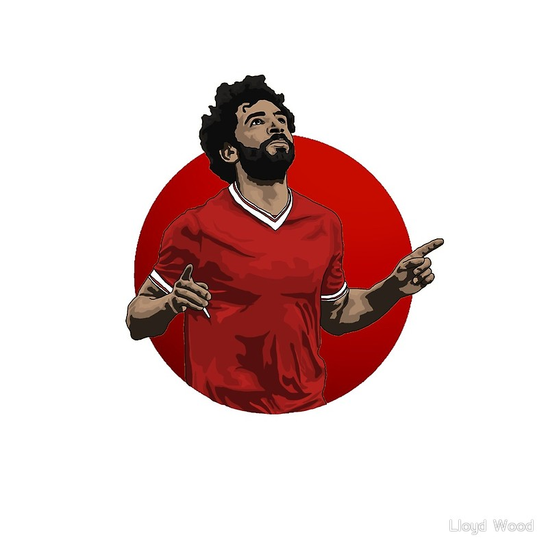 Mo salah clipart png royalty free stock Mohamed Salah | Art Print png royalty free stock