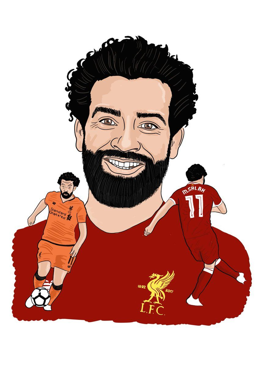 Mo salah clipart clip art black and white library 25) Twitter | LFC_Stats | Mo salah, Liverpool FC, Mohamed salah clip art black and white library