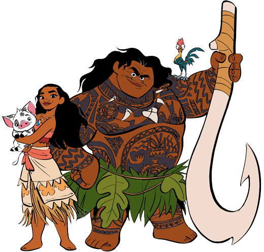 Moana character clipart image freeuse library Moana Clip Art   Disney Clip Art Galore image freeuse library