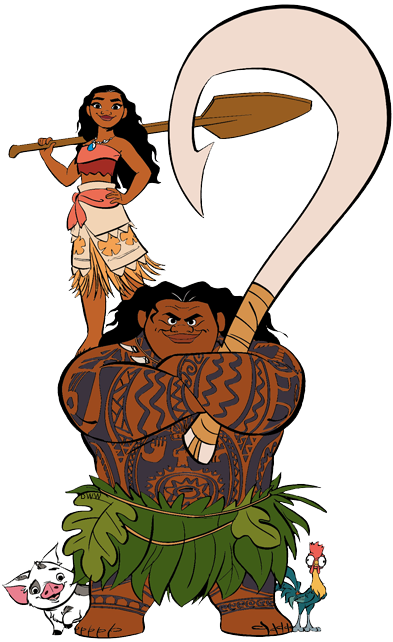 Moana character clipart png royalty free stock Moana Clip Art   Disney Clip Art Galore png royalty free stock