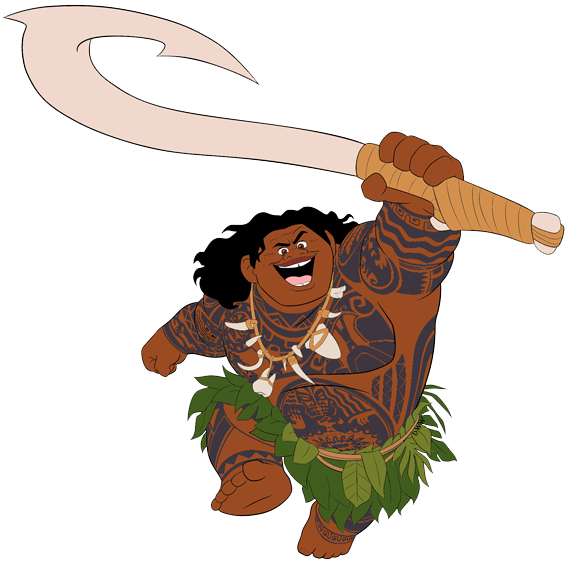 Moana character clipart picture free library Moana Clip Art   Disney Clip Art Galore picture free library
