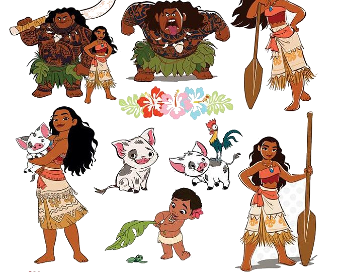 Moana character clipart clip art freeuse stock Moana Free Clipart Clip Art On Transparent Png 8 - AZPng clip art freeuse stock