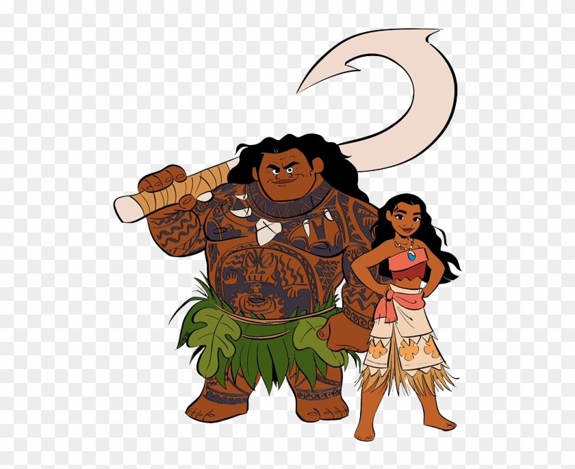 Moana clipart images image royalty free Moana And Maui Png - Png Moana Clipart Transparent, Png ... image royalty free