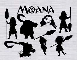 Moanal clipart silhouette jpg freeuse download Download maui silhouette moana clipart Silhouette The Walt ... jpg freeuse download