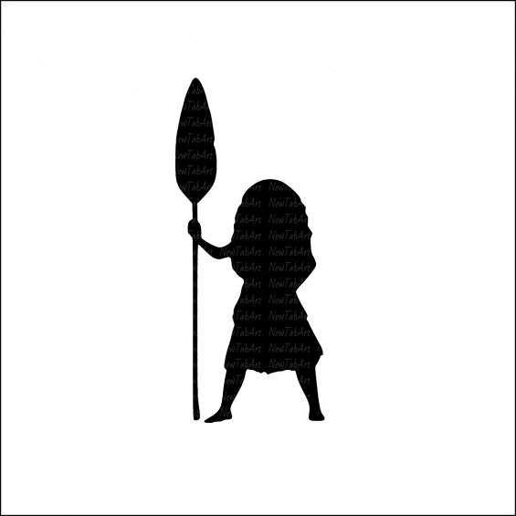 Moanal clipart silhouette png royalty free library Moana Svg Moana Cut files Cricut files Silhouette files ... png royalty free library