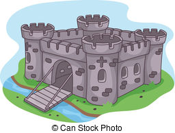 Over the moat clipart