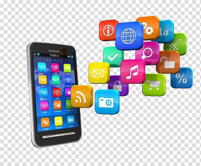 Mobile application development clipart svg free library Of smartphone and app icons, Mobile app development ... svg free library