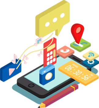 Mobile application development clipart svg freeuse library Mobile Application Development Company in Raleigh nc | App ... svg freeuse library