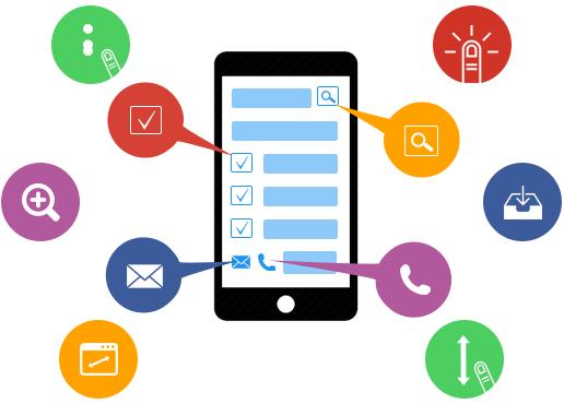Mobile application development clipart svg download Mobile App Designing Company India | Mindrops svg download