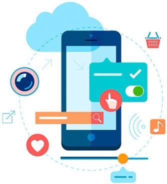 Mobile application development clipart picture library stock Progressive Web Apps are mobile apps that are delivered ... picture library stock