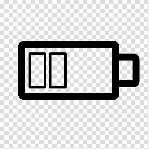 Mobile battery icon clipart vector black and white Battery charger Computer Icons, battery icon transparent ... vector black and white