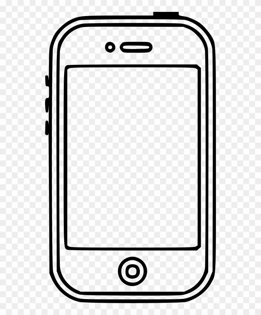 Mobile clipart file clip art transparent Png File Svg - Mobile Phone Clipart (#4480058) - PinClipart clip art transparent