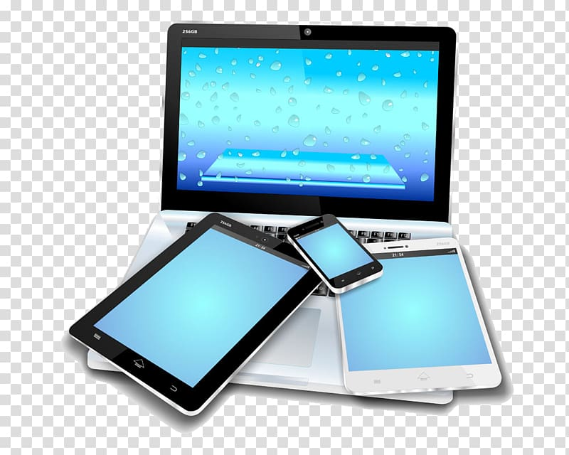 Mobile device clipart png transparent library Laptop Mobile device Tablet computer Smartphone Mobile app ... png transparent library