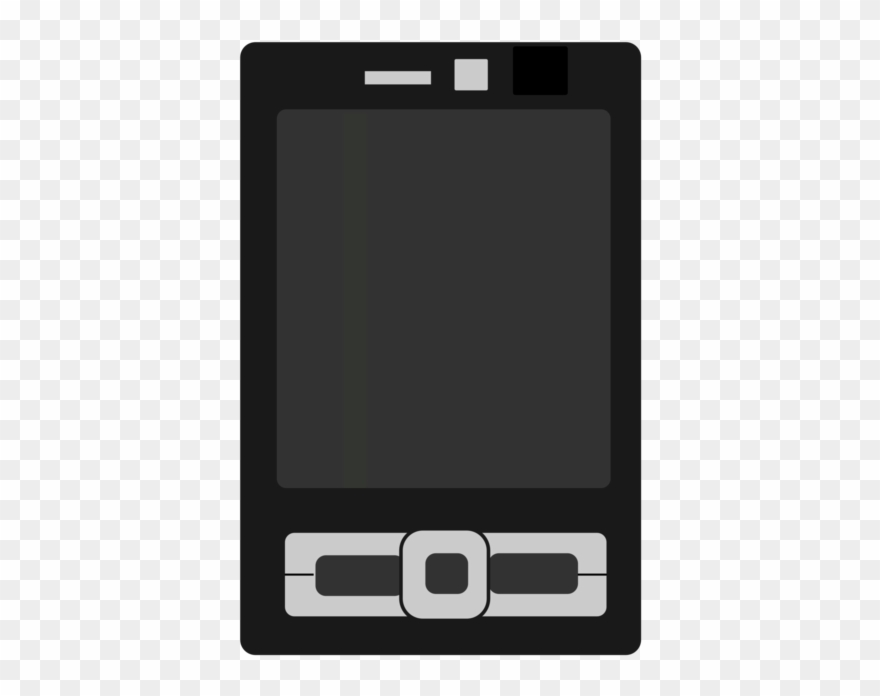 Mobile devices clipart vector black and white library Feature Phone Mobile Phones Handheld Devices Mobile - Mobile ... vector black and white library